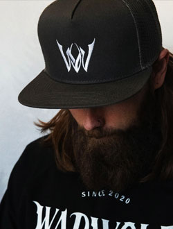 Warwolf Clothing black hat
