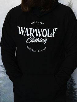 Warwolf Clothing black with hood