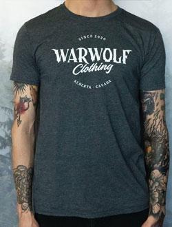 Warwolf Clothing grey tee